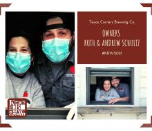 Ruth and Andrew Schultz, Texas Corners Brewing Co.